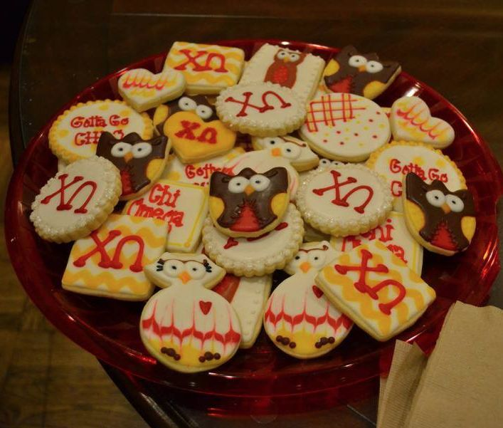 Chi omega owl cookies recipes