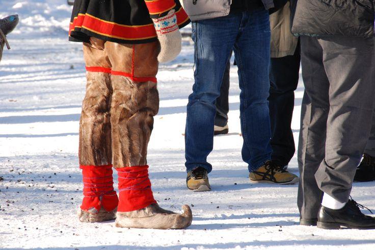 sámi- rénszarvas öltözet