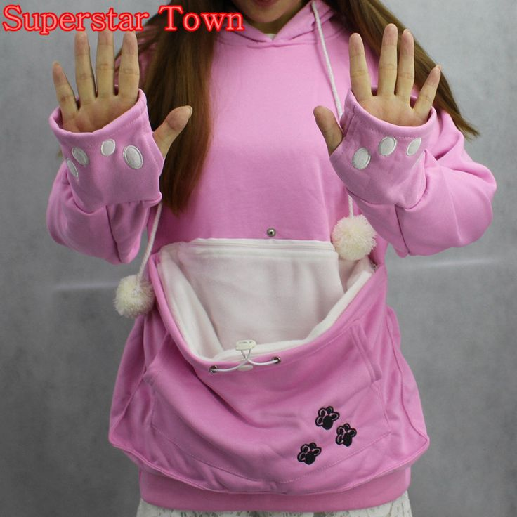 Unique Kangaroo Pouch Ideas On Pinterest Kangaroo Diet - Hoodie with kangaroo pouch is the perfect cat accessory