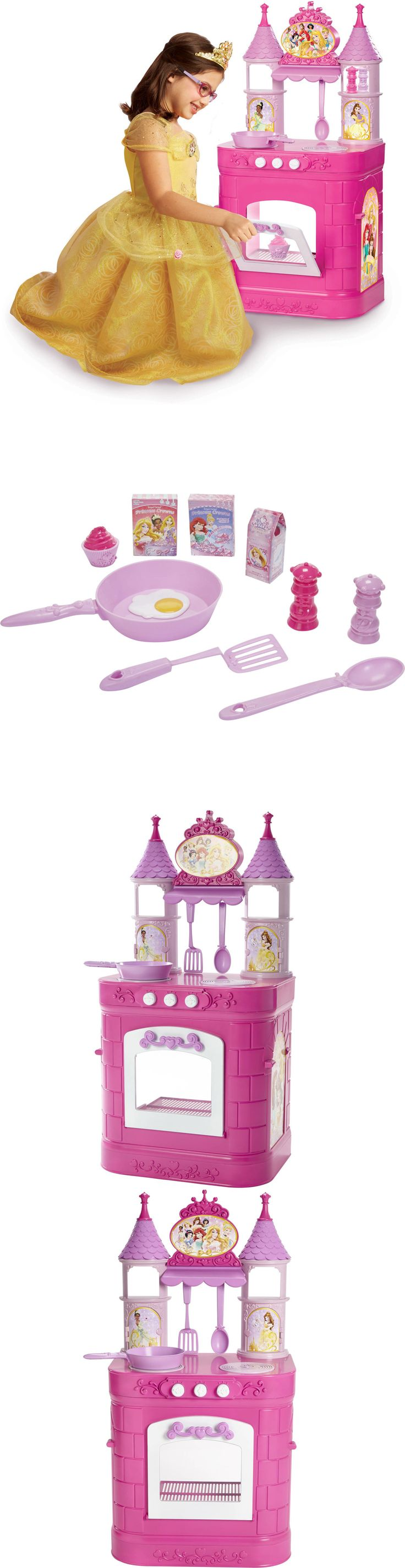 Little Mermaid 44036: Disney Princess Magical Kitchen Kids Girls Pretend Play Toy Sound Gift Pink New -> BUY IT NOW ONLY: $49 on eBay!