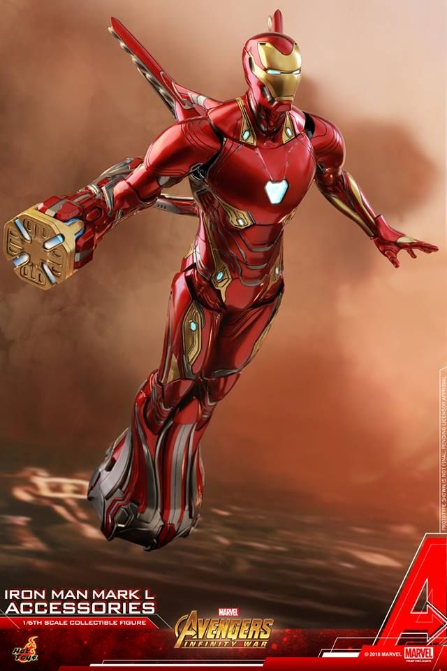 Hot Toys 1 6th Scale Iron Man Mark L Accessories Collectible Set Avengers Infinity War Hot Toys Iron Man Iron Man Marvel Iron Man