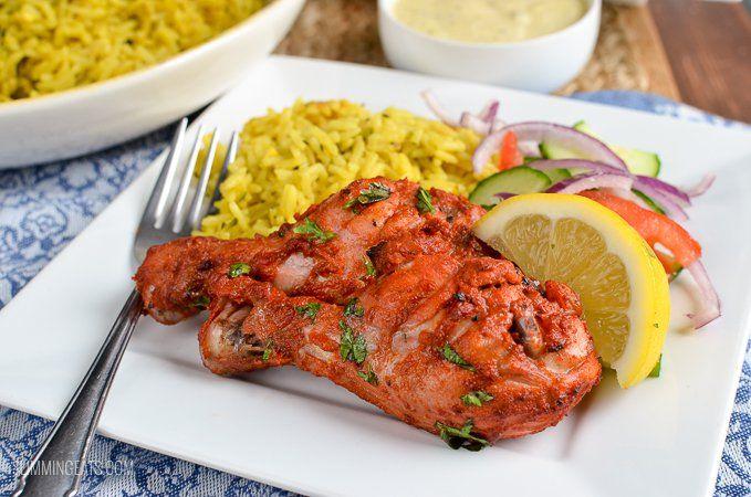 Slimming Eats Syn Free Tandoori Chicken - gluten free, Indian fakeaway, Slimming World and Weight Watchers friendly