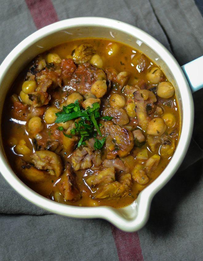 S-Küche: Italien Vegetarisch - Rezension - Maronensuppe mit Kichererbsen