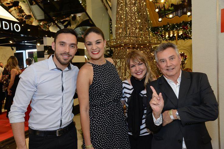 Equipe SEPHORA: Cataldo Domenicis, Graziele Neves, Carolina Vaz e Paulo Navarro