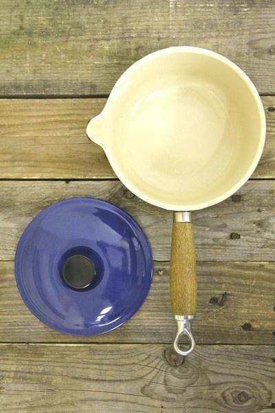 Vintage Le Creuset Blue Saucepan