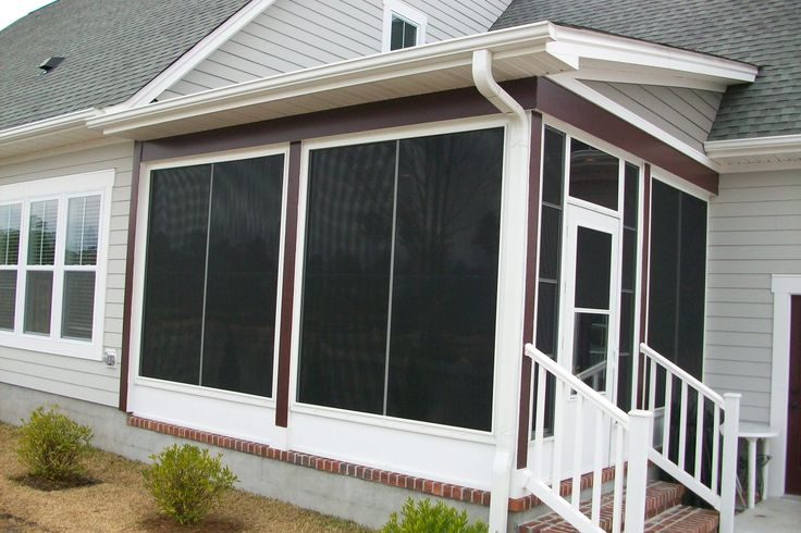 102 Best Images About Porch Ideas On Pinterest Screened Front Porches Screened Porch Designs