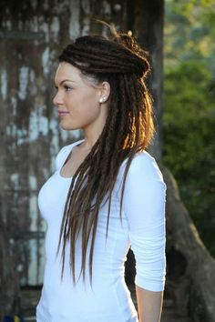 Elegant dreads :: I like the size of them