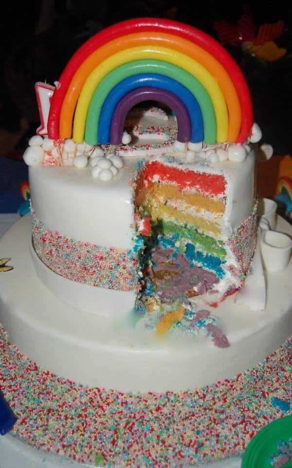 """Rainbow """"Red velvet cake"""""""