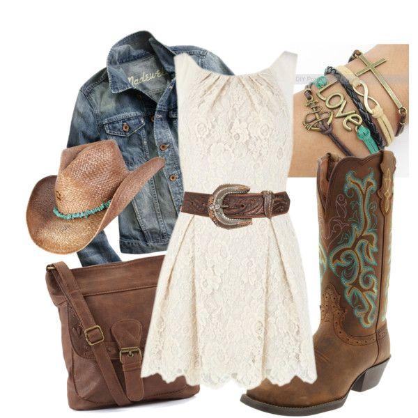 """""""Western Wear"""" by lklein23 on Polyvore"""
