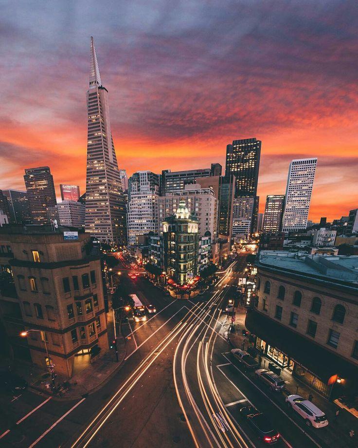 San Francisco by uwo #sanfrancisco #sf #bayarea #alwayssf #goldengatebridge #goldengate #alcatraz #california
