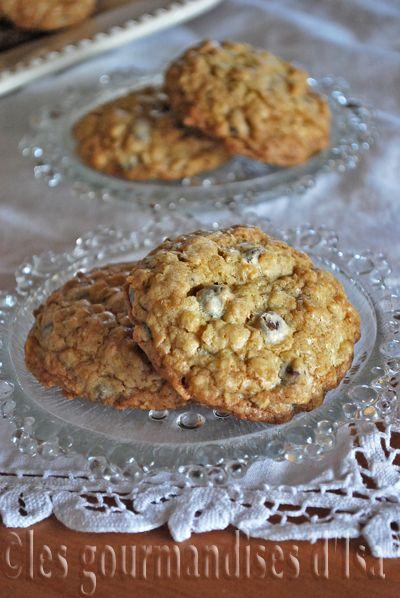 biscuits à l'avoine et aux pépites de chocolat