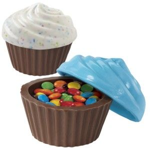 Wilton Chocolate Mould - Cupcake Container - 3D Golda's Kitchen