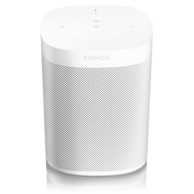 Introducing One: the voice-controlled smart speaker for music lovers, powered by Alexa and available only from Sonos. Cue up and control music in every room, check news and traffic, manage smart devices, and do everything else Alexa does, all with your voice, and all using a single Sonos speaker.