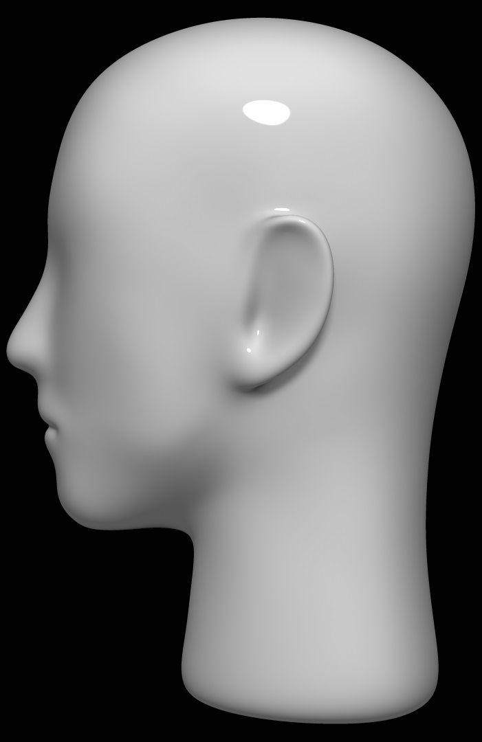 3d Model Mannequin Head Mannequin Heads 3d Model Model