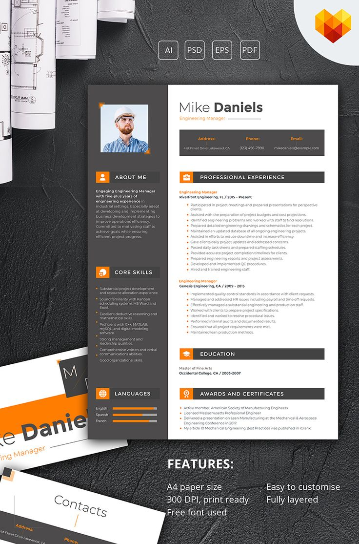 Architecture MotoCMS Resume Template 66446 13 best