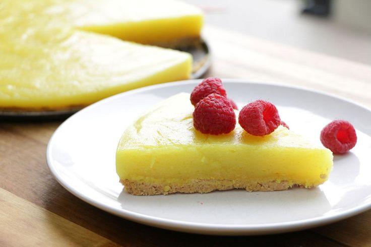 Essayez notre tarte au citron facile avec croûte s...