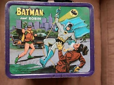 1966 Batman Lunch Box with Excellent Thermos