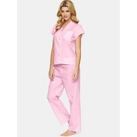£15.00 Summer Daisy Short Sleeve Classic #Pyjamas, Pink, #fashion, #sleepwear, #nightwear