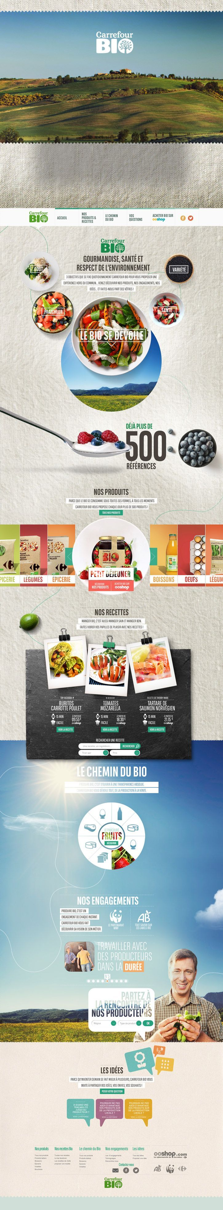 green Food | #webdesign #it #web #design #layout #userinterface #website #webdesign < repinned by www.BlickeDeeler.de | Take a look at www.WebsiteDesign-Hamburg.de
