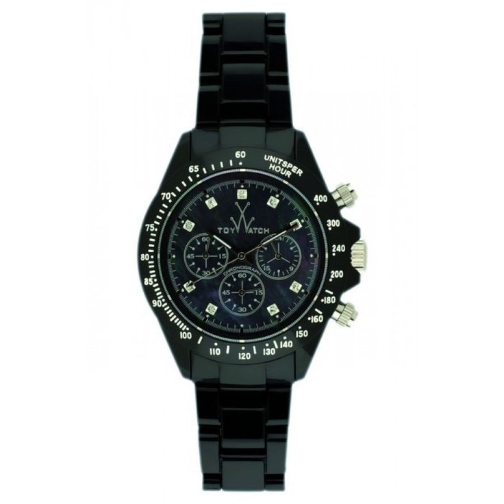 $619 toy watch fluo chrono blackie'o #superettegetthelook