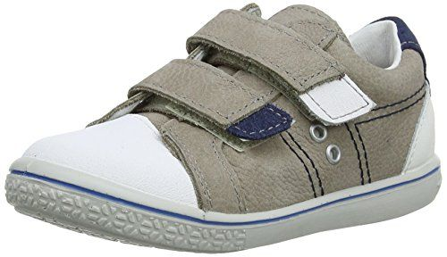 Ricosta Nippy M 61, Jungen Low-Top Sneaker, Mehrfarbig (Kies/Weiß), Gr. 21 EU / 5 UK - http://on-line-kaufen.de/ricosta/21-eu-5-uk-ricosta-nippy-m-61-jungen-low-top-sneaker-3