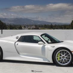 The Porsche 918 Spyder is a Hybrid supercar with a limited production of 918 units that ended in 2015. The car is available as a 2-door coupe and as 2-door roadster.