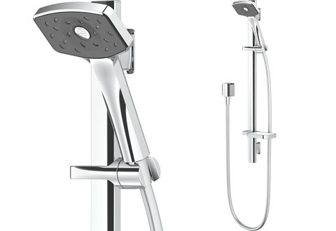 Satinjet Slide Rail Shower