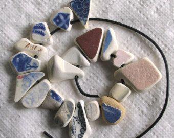 18 grande mare spiaggia ceramica pulsanti di TidelineDesigns