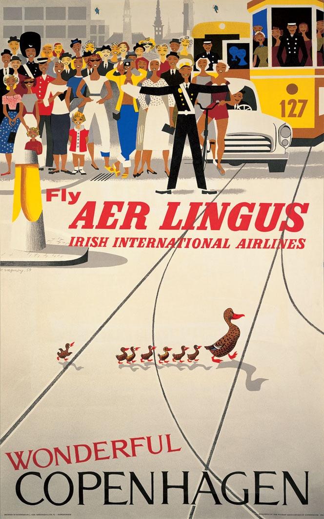 Fly #AerLingus - Irish International Airlines to wonderful #Copenhagen
