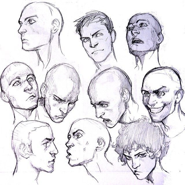 Risultati immagini per adding emotions to character face drawing