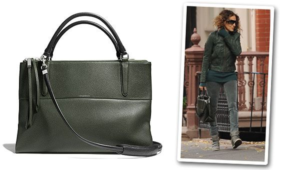 Be The First To Shop Sarah Jessica Parker's Insanely Gorgeous Coach Borough Bag