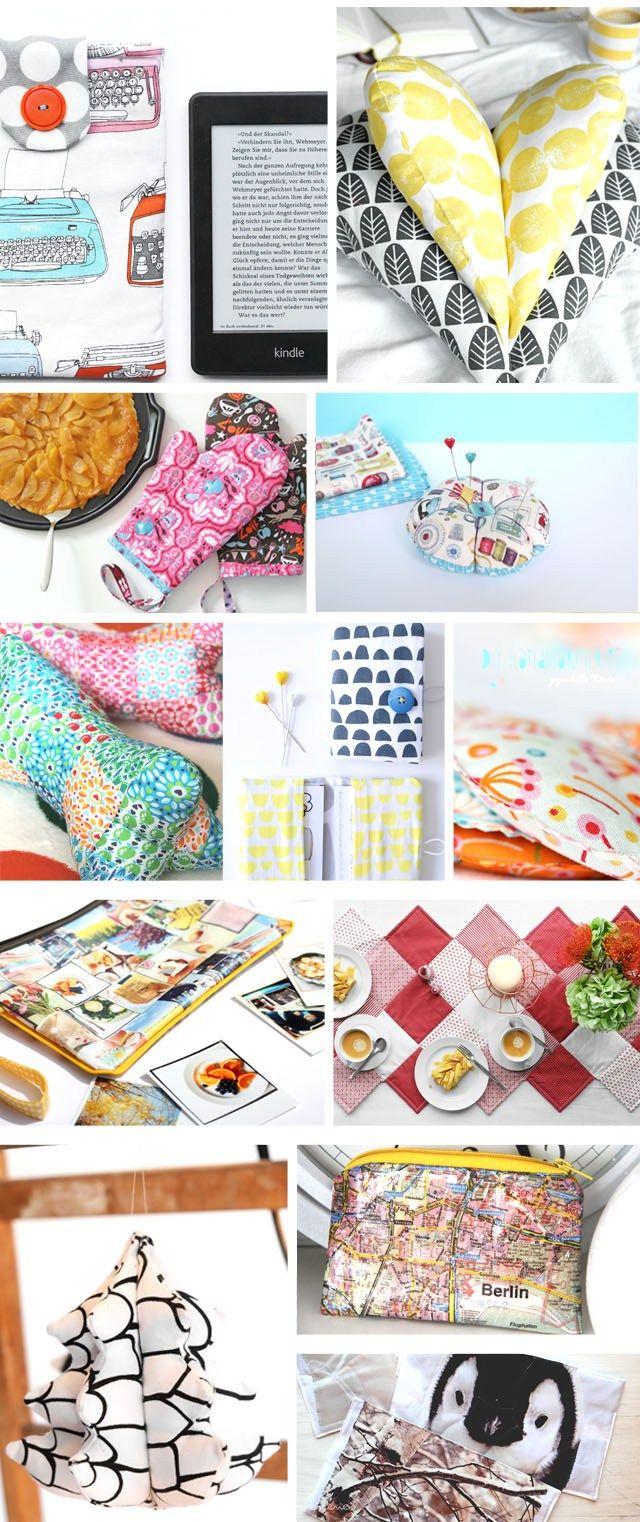 12 genaehte Geschenke zu Weihnachten | 12 sewing ideas for christmas | waseigenes.com