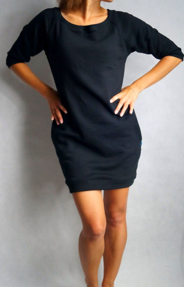 Sweatshirt dress by Lilyoodziez on Etsy https://www.etsy.com/ca/listing/226098073/sweatshirt-dress
