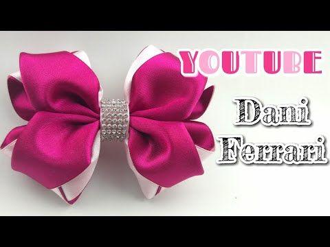 Borboleta feita no cetim n°12 - YouTube