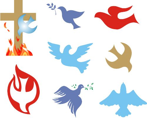 Christianity Symbols Illustrated Glossary: Christian Dove