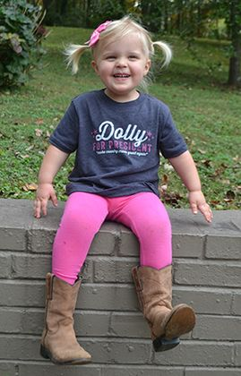 a107242b8 Pre-Order For Dolly For President Toddler Shirt - SHOP NOW - Available in  2T, 3T, 4T, 5/6T.
