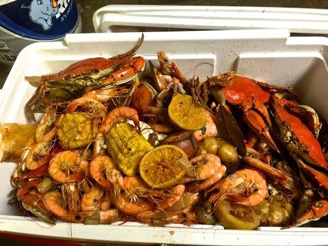 Annual Seafood Boil ~ New Cajun Rocket Pot - YouTube