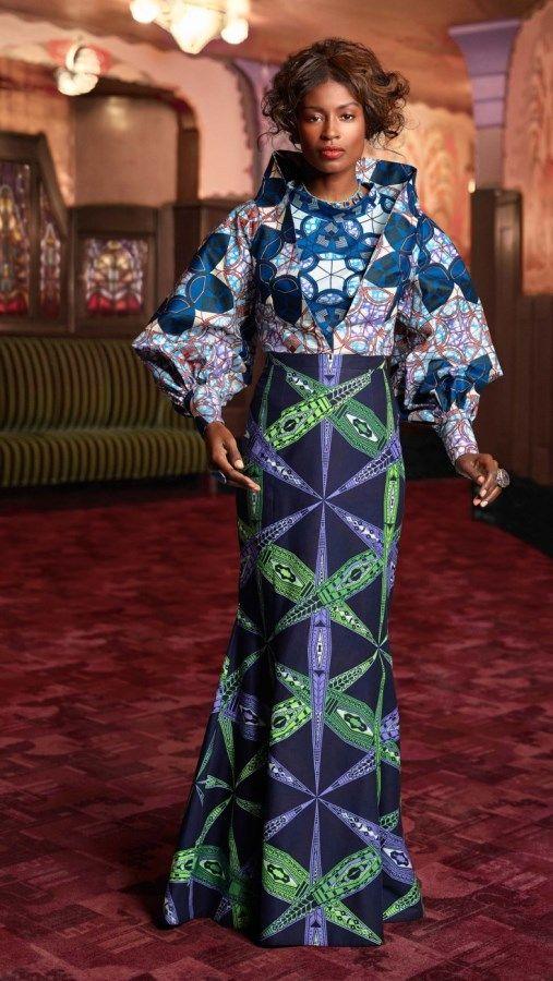 Vlisco ~ African Style ~African fashion, Ankara, kitenge, African women dresses, African prints, African men's fashion, Nigerian style, Ghanaian fashion ~DKK