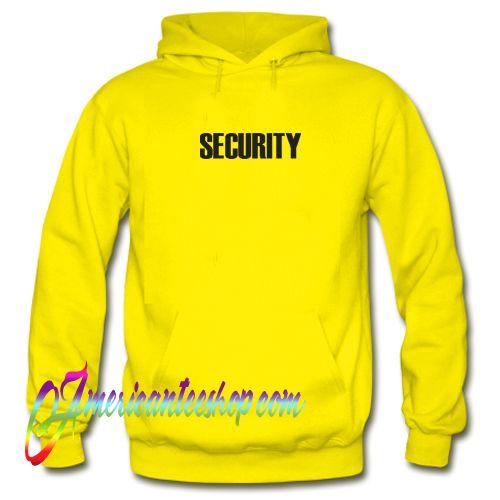 Security Justin Bieber Hoodie