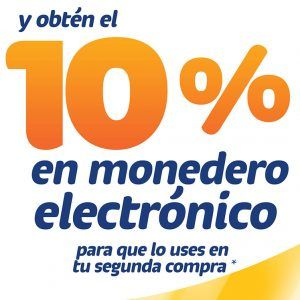10% en Monedero Electrónico con Amigo Fácil - Evonet