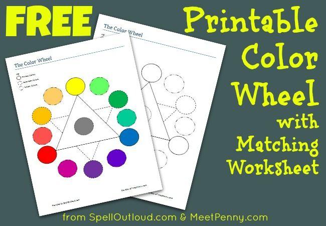 free color wheel printables