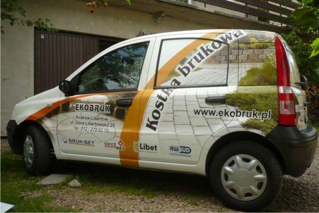 Reklamy na samochodach osobowych - dostawczych- ciężarowych - Samart_2015_Galeria
