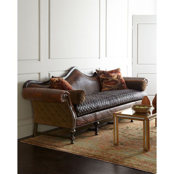 Old Hickory Tannery Cedar Park Sofa  45 925 CNY    liked on Polyvore  featuring home. 245 best My Polyvore Finds images on Pinterest