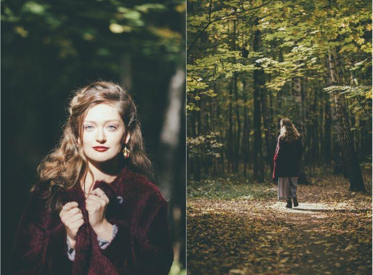 Feel cozy. Autumn, picnic, girl, inspiration, beauty, wood, forest,  sunshine, sun,