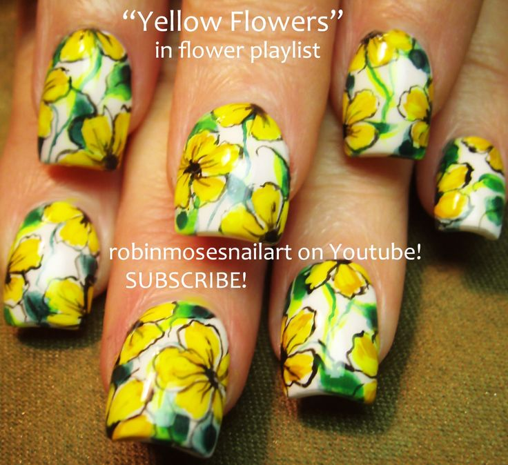 Best 20+ Yellow nail art ideas on Pinterest | Yellow nail polish ...
