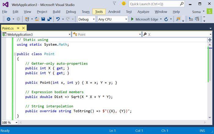 Microsoft lanza Visual Studio 2015 y .NET 4.6 para crear aplicaciones para cualquier plataforma