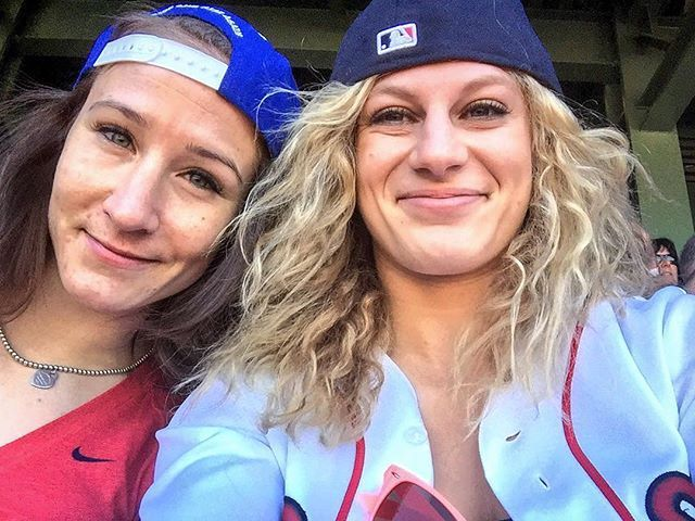 Beautiful day for a game! Thank you to the @redsoxfund for the tix!!! #besties…