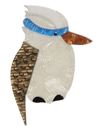 Kallista the Kookaburra - White Colourway