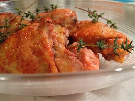 Запеченные куриные ножки, маринованные в кокосовом молоке со специями тандури рецепт с фото