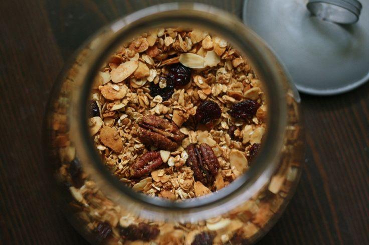 granola ou muesli maison à l'actifry blog chez requia cuisine et confidences
